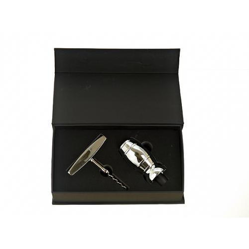 Винный подарочный набор (2 предмета), арт. 7750036