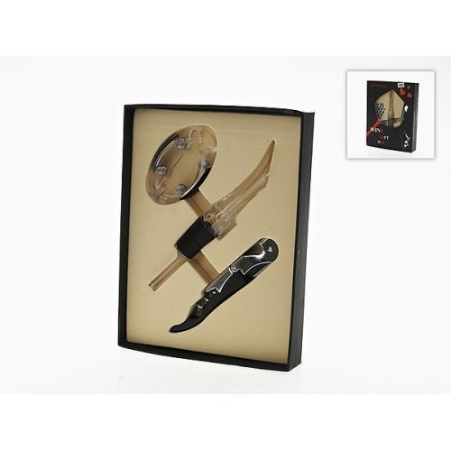 Винный подарочный набор (3 предмета), арт. 7750056