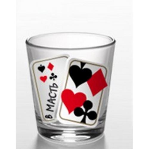 Набор стаканов В масть, 50 мл (6 штук)