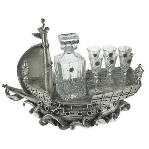 Подарочный набор для вина Фрегат на 6 персон, 51x20x40 см