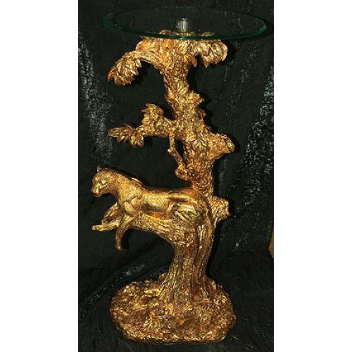 Напольная декоративная композиция Леопард, 81 см