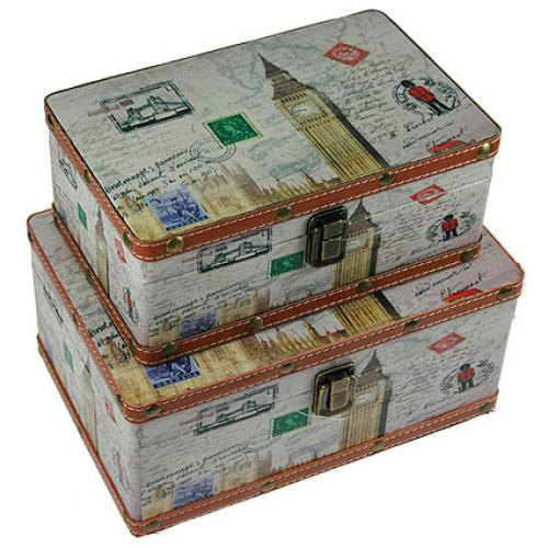 Набор сундучков (2 штуки), 27x19x13 см