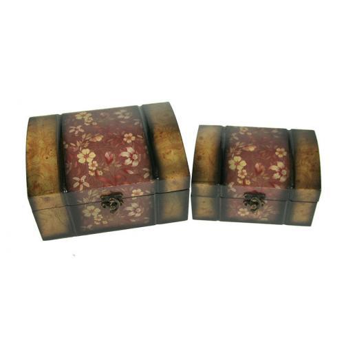 Набор сундучков (2 штуки), 20x15x10 см