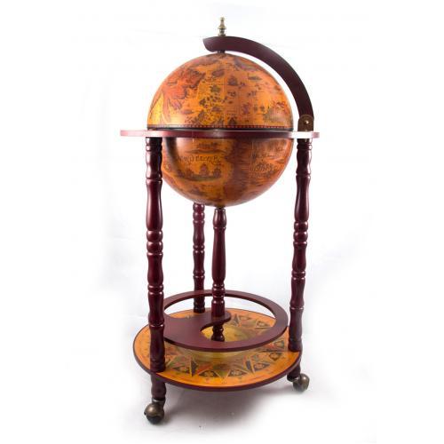 Глобус-бар напольный, 44x44x88 см, арт. 47027