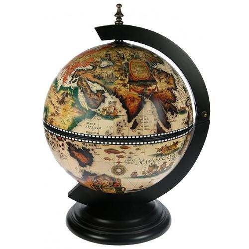 Глобус-бар напольный, 37x33x50 см, арт. 47032