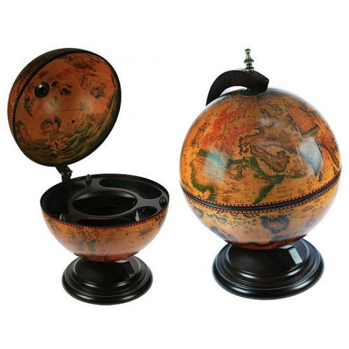 Глобус-бар напольный, 38x33x50 см, арт. 47022