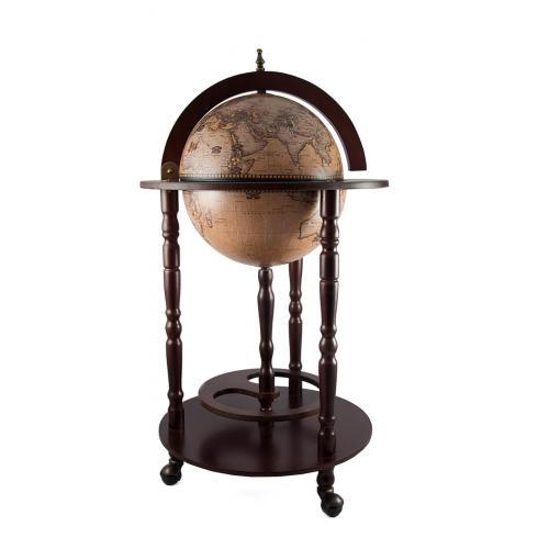 Глобус-бар напольный, 44x44x88 см, арт. 47068