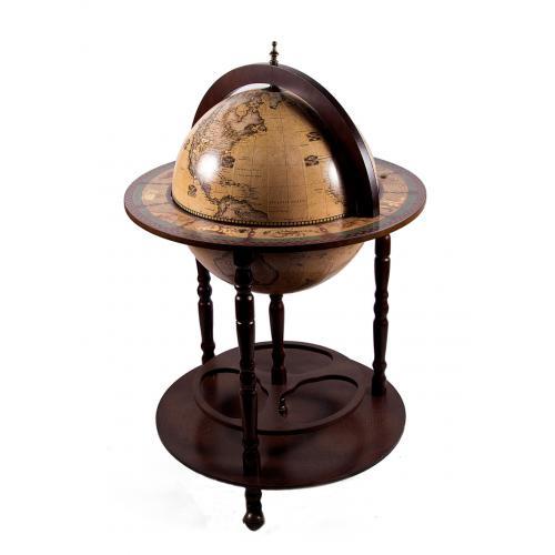 Глобус-бар напольный, 50x50x90 см, арт. 47063