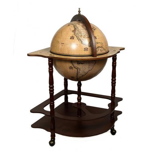 Глобус-бар напольный, 53x53x93 см, арт. 47064