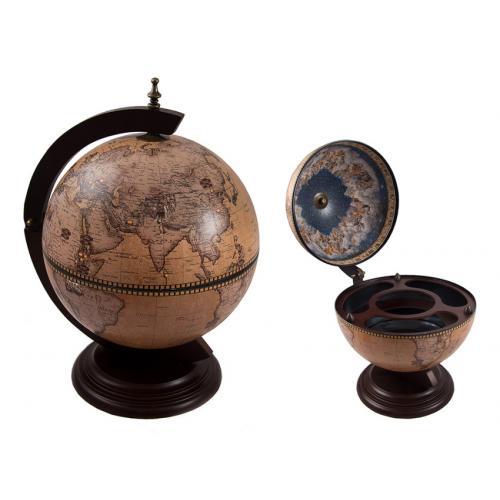 Глобус-бар настольный, 38x33x50 см, арт. 47066