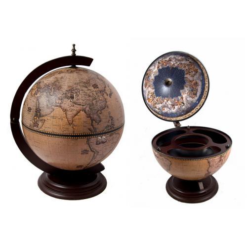 Глобус-бар настольный, 45x42x60 см, арт. 47065