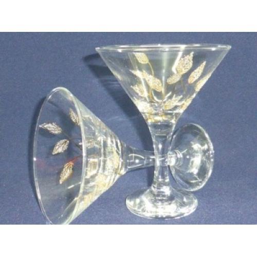 Набор бокалов для мартини Осень, 170 мл, 6 штук