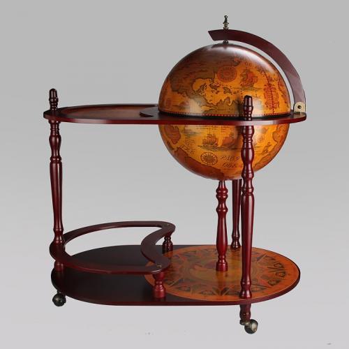 Глобус-бар напольный, 81x51x93 см