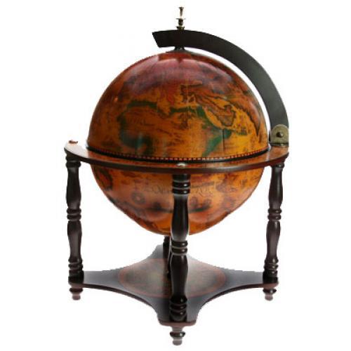 Глобус-бар настольный, 40x40x57 см, арт. 47028