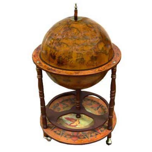 Глобус-бар напольный, 50x50x90 см, арт. 47016