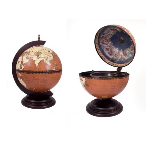 Глобус-бар настольный, 38x33x48 см, арт. 47074
