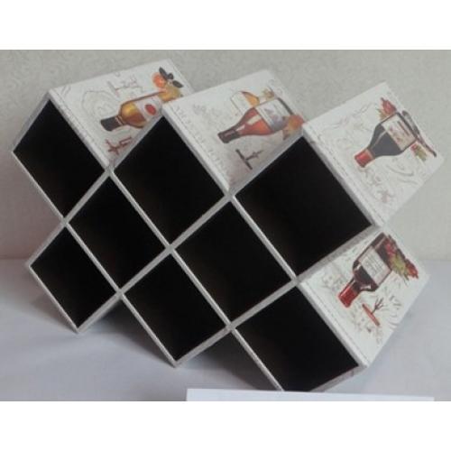 Подставка для хранения бутылок, 42x28x20 см, арт. 84312