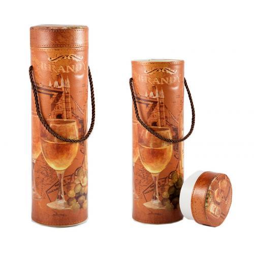 Шкатулка для бутылки, 10x10x33 см, арт. 84314