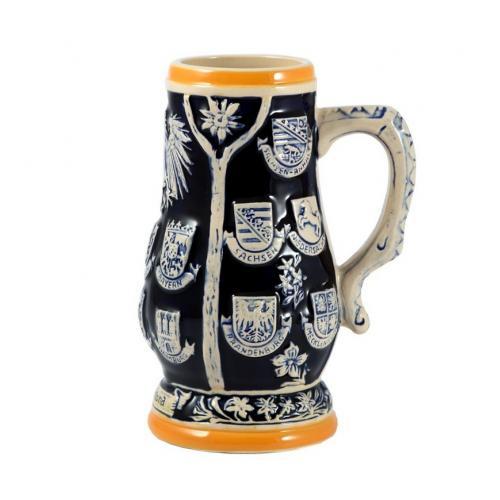 Пивная кружка коллекционная Германия, 20 см, 800 мл, арт. 224404
