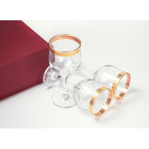 Подарочный набор для вина, 3 бокала, 240 мл