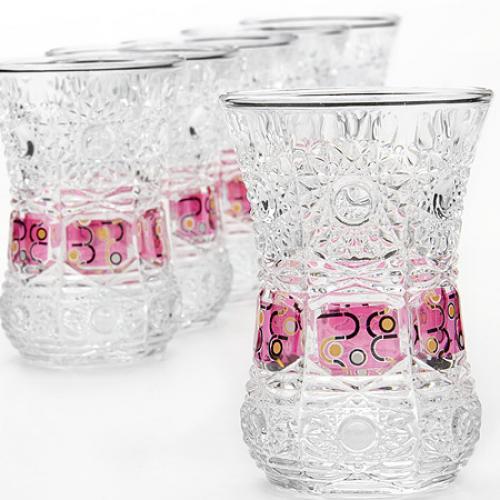 Набор стаканов Loraine, 6 предметов, 130 мл