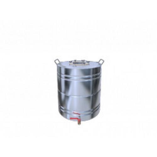 Перегонный куб Добрый Жар, с ребрами жесткости, с краном, 20 литров, матовый