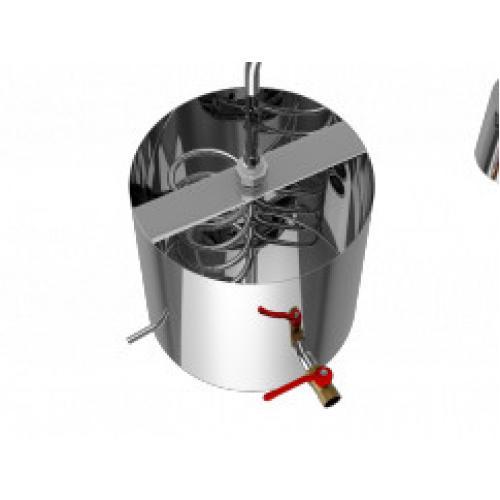 Холодильник Добрый Жар Дачный (змеевик в баке 20 литров)