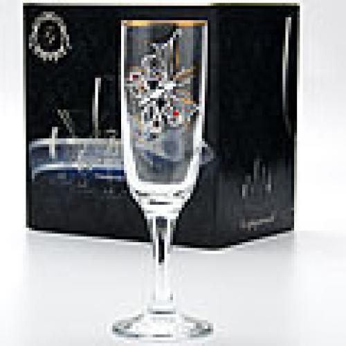 Набор бокалов для шампанского Флёр, 200 мл, 6 штук