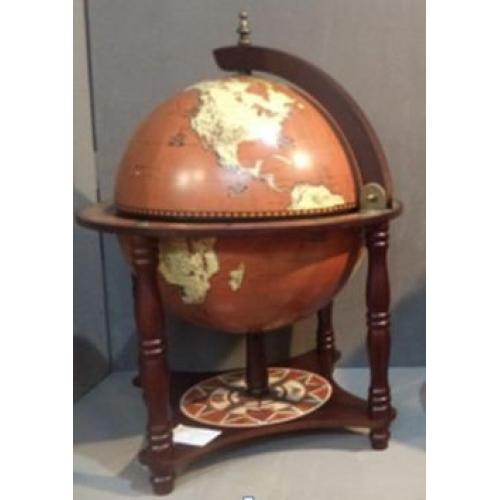 Глобус-бар напольный, 42x42x57 см, арт. 47085