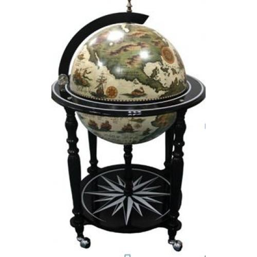Глобус-бар напольный, 60x60x95 см, арт. 47083