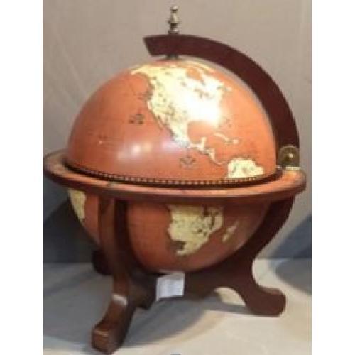 Глобус-бар настольный, 40x40x50 см, арт. 47086