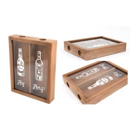 Накопитель для винных пробок, 28x21x5 см, арт. 138823