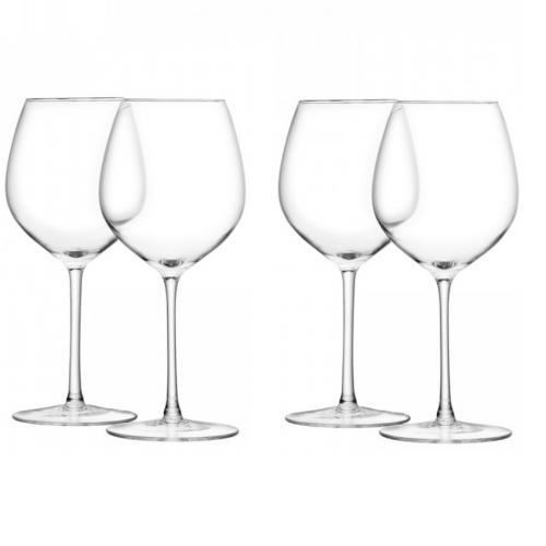 Бокал для красного вина Wine, 4 штуки, 400 мл