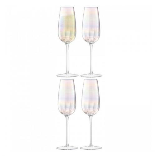 Бокал-флейта для шампанского Pearl, 4 штуки