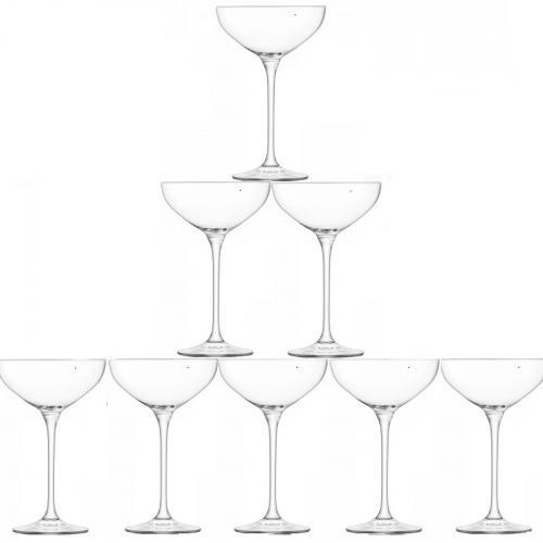 Набор из 10 бокалов-креманок для шампанского Tower
