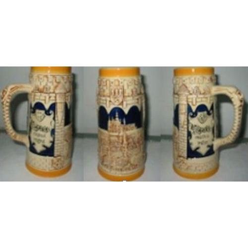 Пивная кружка коллекционная Замок в Праге, 800 мл, арт. 224434