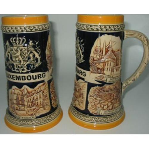 Пивная кружка коллекционная Люксембург, 850 мл, арт. 224438