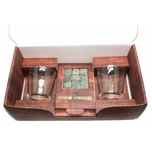 Набор для виски Подарочный, с круглыми стаканами