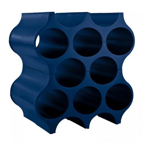 Подставка для бутылок Set-up, синяя