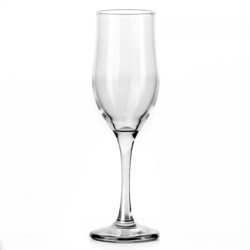 Набор бокалов для шампанского Pasabahce. Tulip, силикатное стекло, 190 мл, 6 штук