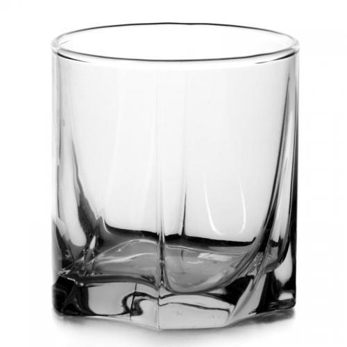 Набор стаканов Pasabahce. Luna, стеклянные, низкие, 368 мл, 6 штук
