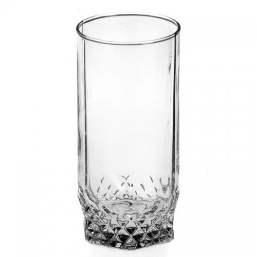 Набор стаканов Pasabahce. Valse (Вальс), стеклянные, высокие, 290 мл, 6 штук