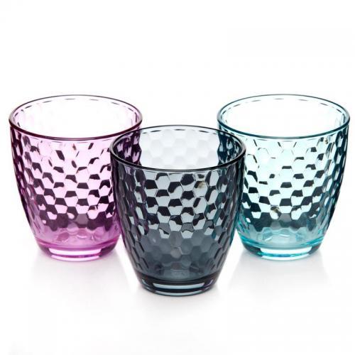 Набор стаканов Pasabahce. Энжой Лофт, стеклянные, низкие, 280 мл, 3 штуки