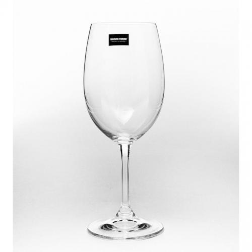 Набор бокалов для вина Leona, 340 мл, стекло, 6 штук