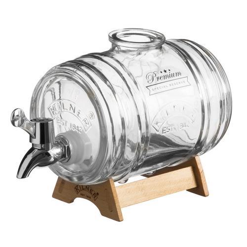 Диспенсер для напитков, на подставке Barrel, 1 л